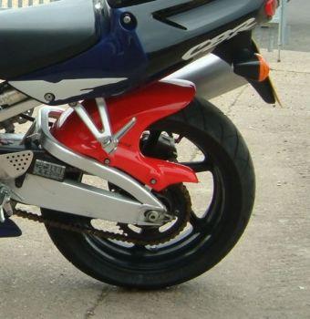 Honda CBR900 RR (96-99) Rear Hugger: Gloss White 07106C