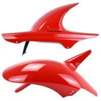 Honda Hornet 600 (1997-2002) Rear Hugger: Red 07116D