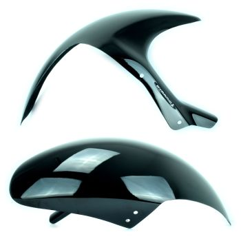 Honda VTR1000 SP-1 (00-01) Rear Hugger: Gloss Black 07124B