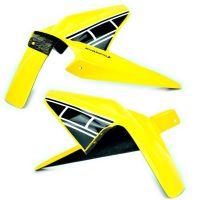 Yamaha MT07 / FZ07 Rear Hugger: yellow black & white 072438L