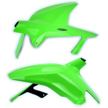 Kawasaki Ninja 250R (08-12) Rear Hugger: Gloss Green 07301D