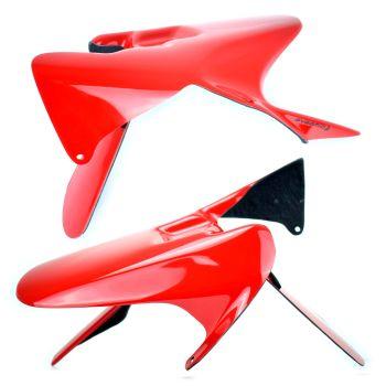 Honda CBR1000 RR (04-07) Rear Hugger: Gloss Red 071083D