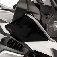 BMW R1250GS (18+) Upper Wind Deflectors Dark Smoke M9847F