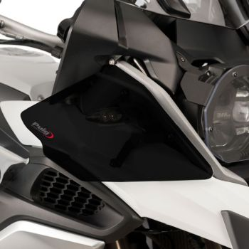 BMW R1200GS (13-17) Upper Wind Deflectors Dark Smoke M9847F