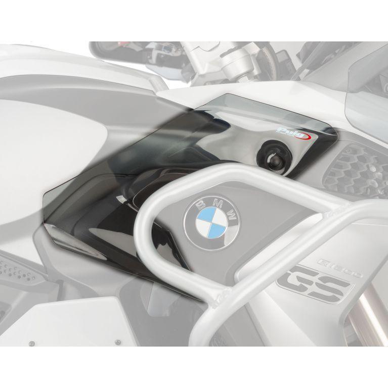 BMW F750GS (18+) Upper Wind Deflectors Light Smoke M9847H