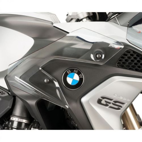 BMW F750GS (18+) Upper Wind Deflectors Clear M9847W