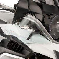 BMW R1200GS (13-17) Upper Wind Deflectors Clear M9847W