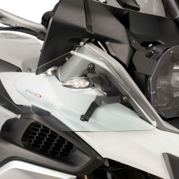 BMW R1200GS (13-17) Upper Wind Deflectors Clear M9847W