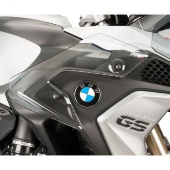BMW R1250GS (18+) Lower Wind Deflectors Clear M9848W