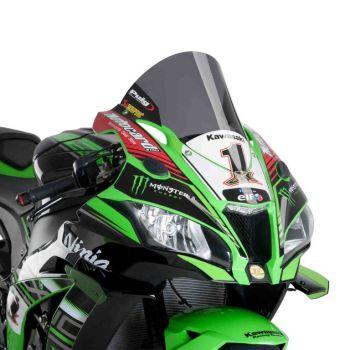 Kawasaki ZX10-R (16+) Racing Screen Dark Smoke M9849F