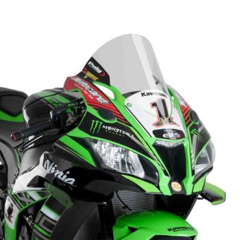 Kawasaki ZX10-R (16+) Racing Screen Clear M9849W