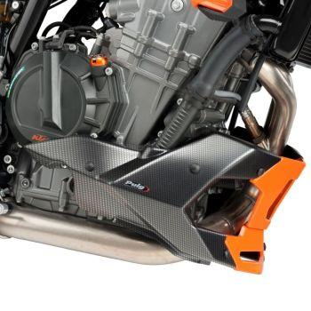 KTM 790 Duke (18+) Belly Pan / Engine Spoiler Carbon Look M9669C