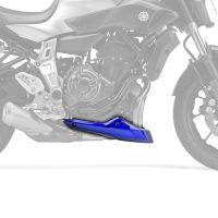 Yamaha MT07 / FZ07 (14+) Belly Pan / Spoiler: Metallic Blue (Yamaha Blue) 22136N