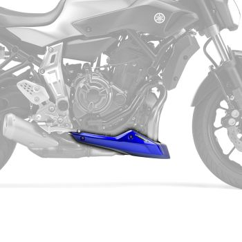 Yamaha MT07 / FZ07 (14+) Belly Pan / Spoiler: Metallic Blue (Yamaha Blue) 22136N