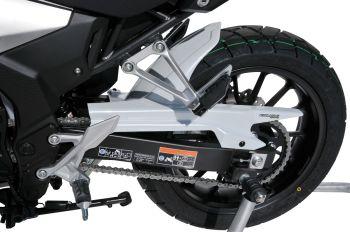 Honda CB500X (19+) Rear Hugger: Matte Gunpowder Black E7301T06-73