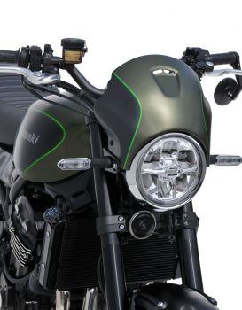 Kawasaki Z900RS (18+) Nose Fairing: Matt Metallic Green, Flat Ebony and Lime Green 1503S68-GF