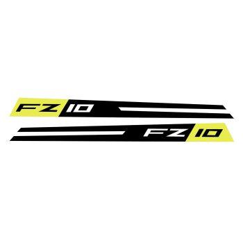 Yamaha FZ10 Fairing Panel Decal Night Flou Grey BRA0014A