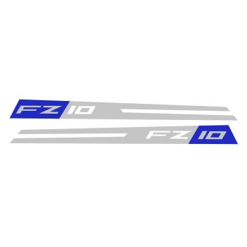 Yamaha FZ10 Fairing Panel Decal Race Blu Sport CBRA0014B