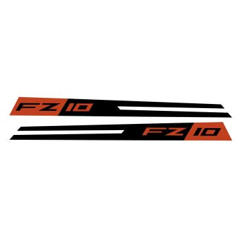 Yamaha FZ10 Fairing Panel Decal Tech Black Sport CBRA0014B