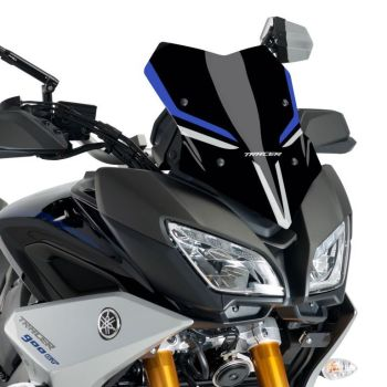 Yamaha Tracer 900 GT (18+) Racing Screen Black, Blue and Silver GT Colours 22200G