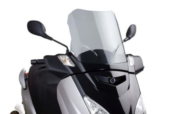 Yamaha X-MAX 125 (06-17) Touring Screen  Clear M5015W