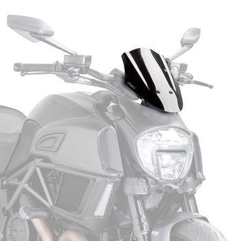 Ducati Diavel (14+) Sport Screen Black M7592N