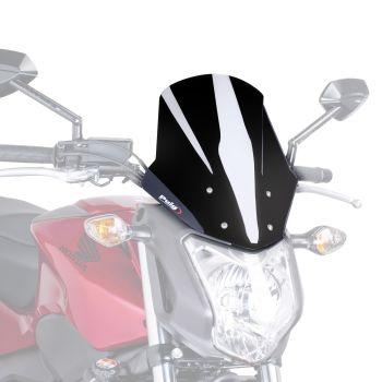 Honda NC700S (12-13) Racing Screen Black M5991N
