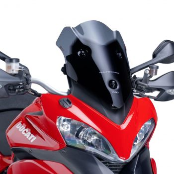 Ducati Multistrada 1200 (10-14) Racing Screen Black M6273N