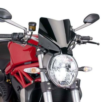 Ducati Monster 1200 (14+) Sport Screen Black M7013N