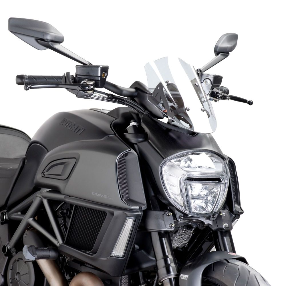 Ducati Diavel (14+) Sport Screen Clear M7592W