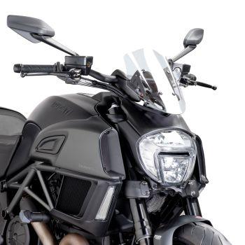 Ducati Diavel (14-18) Sport Screen Clear M7592W