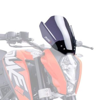 KTM 125 Duke (11-16) New Gen Sport Screen Dark Smoke M6275F