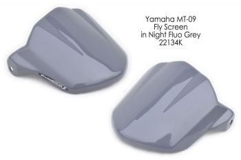 Yamaha MT09 / FZ09 (13-16) Fly Screen: Night Fluo Grey 22134K