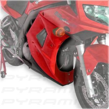 Suzuki SV650S (03-11) Fairing Lowers Gloss Black E810418068