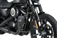 Harley Davidson Sportster Engine Guards Moustache Model Black