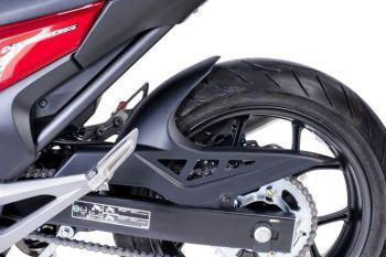 Honda NC700S (12-13) Rear Hugger: Matte Black M6038J