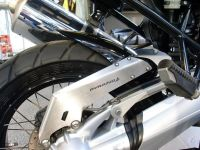 BMW R1200GS (04-12) Rear Hugger: Gloss Black 074050B
