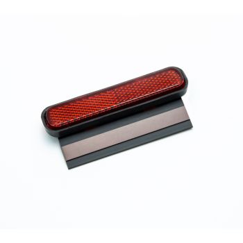 Universal Motorcycle Rear Number Plate Reflector