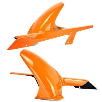 KTM 200 Duke (12+) Rear Hugger: Gloss Orange 079301D