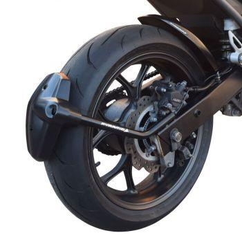 Honda NC700 S / X (12-13) Rear Spray Guard Hugger Alternative Matte Black 085100M