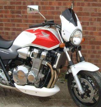 Honda CB1300 S (98-07) Belly Pan: Gloss White 21060C