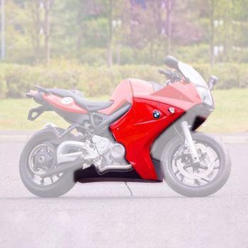BMW F800 ST (05-12) Fairing Lowers and Belly Pan 3 piece set Unpainted 245000U