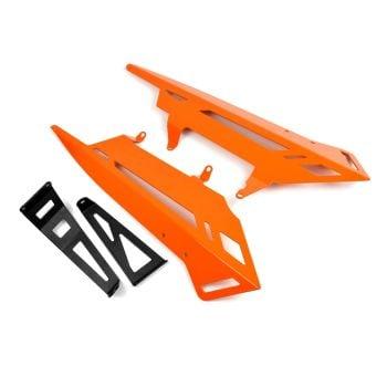 KTM 1290 Superduke R (20+) Belly Pan (Exhaust Cheeks) Orange 29900D