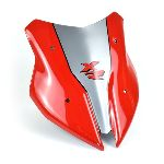 BMW F900XR (20+) Fly Screen Red and Grey 24002E