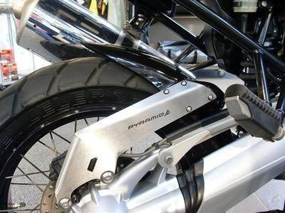 BMW R1200GS Adventure 2005 - 2012 Gloss Black Hugger