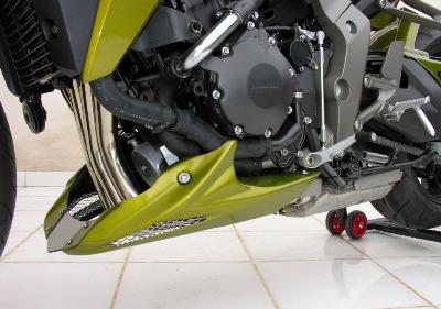 Honda CB1000R (2008-09) Belly Pan: Dragon Green Metallic