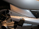 BMW R1200RT (05-13) Frame Infill Panels: Black 240020B