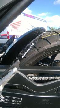 Honda NC700X, NC700S, NC750X, NC750S, Integra 700 Rear Hugger - Real Carbon 071800A