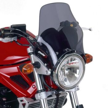 Bugspoiler - Universal Motorcycle Screen for Naked Bikes: Dark Smoke 04802B