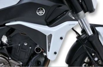 Yamaha MT07 Radiator Cheeks: Satin Grey E760294121